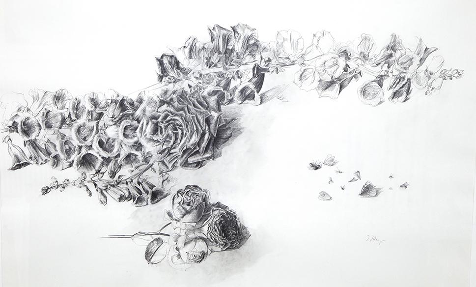 007 - Blumen, Insekten mit Passepartout